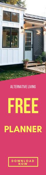 Free minimalist living planner banner