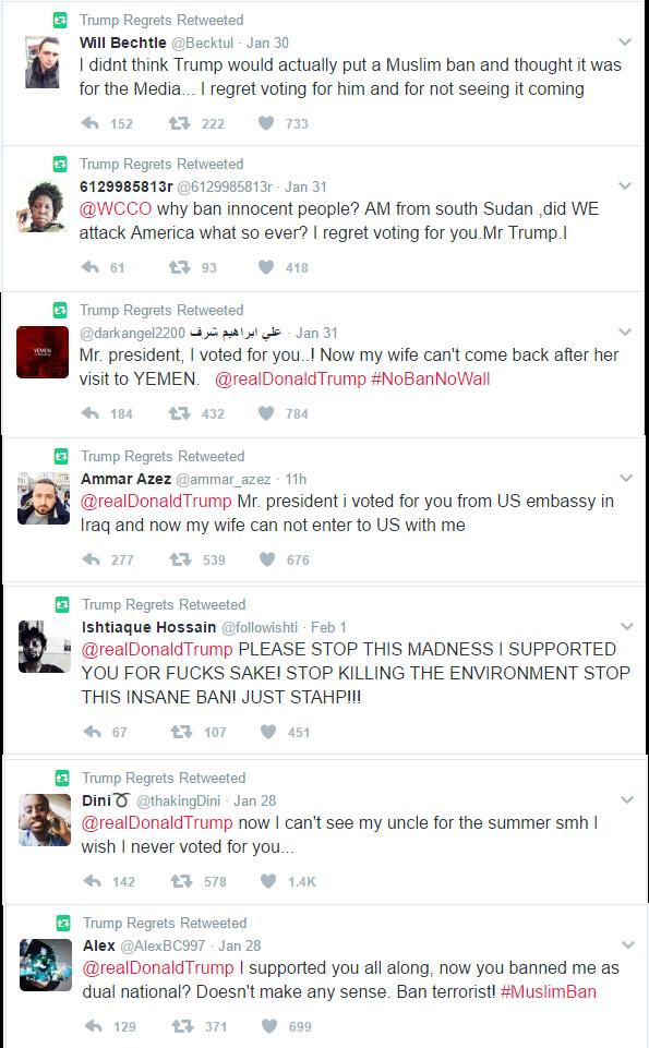 Muslim Trump Refretters