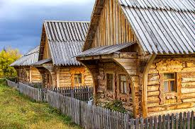 Tiny houses in Russia