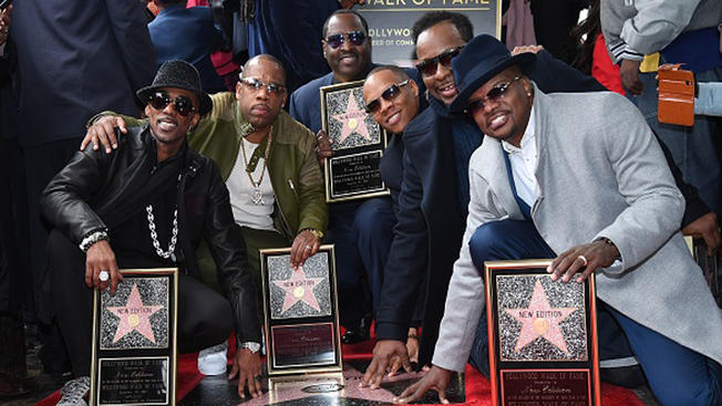 New Edition Walk Of Fame