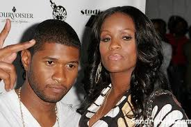 Usher and tameka2