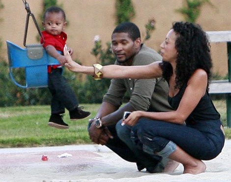 Usher Maya and Cinco