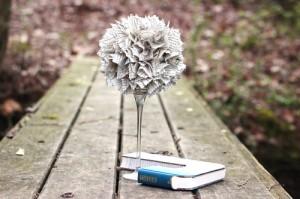 Paper topiary