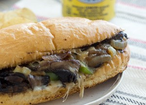 Portabella Cheesesteak